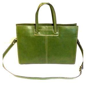 Handbags - Italian leather laptop bag